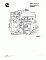Cummins Engine QSK19 серии, заводская инструкция по