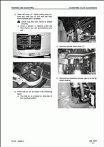 Komatsu Hydraulic Excavator PC27MR-2, PC30MR-2, PC35MR-2