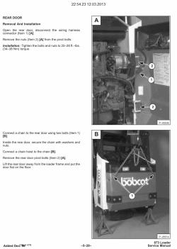 Repair manual melroe Bobcat 742 Parts Manual